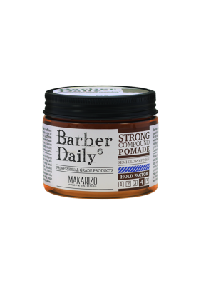 barber daily strong compound pomade