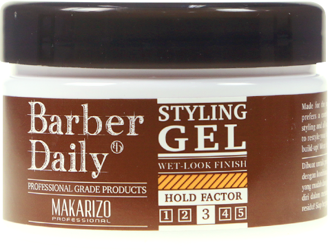barber daily styling gel