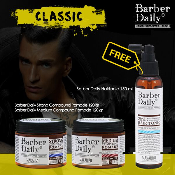 Paket Barber Daily The Classic