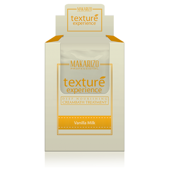 Texture Experience Deep Nourishing Creambath Treatment Vanilla Milk 6 x 60g