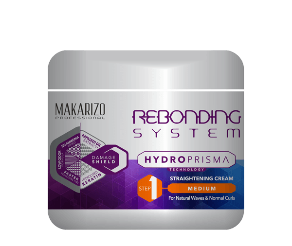 Rebonding System HydroPrisma Straightening Cream Medium 500ml